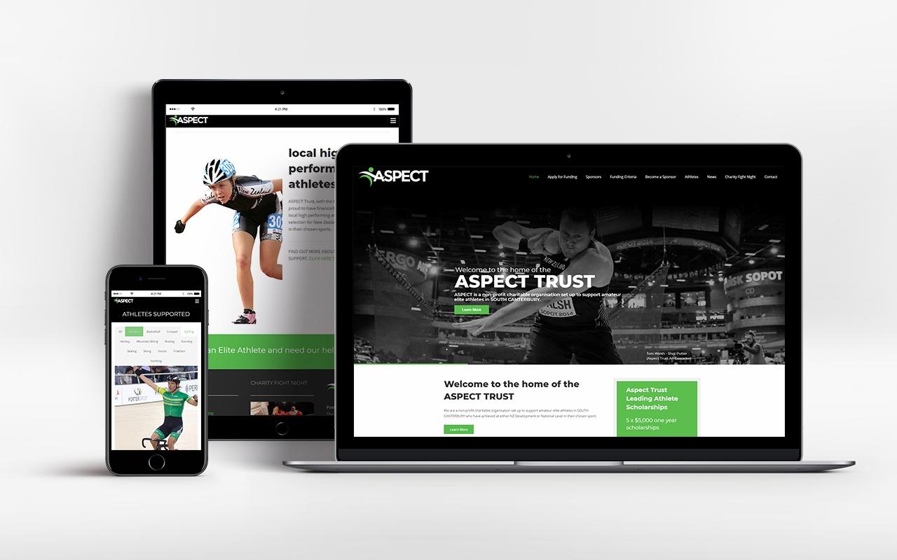 Aspect Trust website