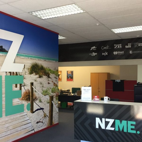 NZME Signage