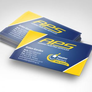 Copyfast Business Card gloss and matte laminated