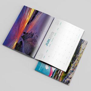 Copyfast A4 12 month calendar