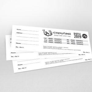 Raffle-Tickets 120gsm-standard